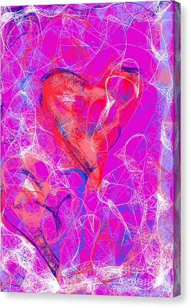 Web Of Love Canvas Print