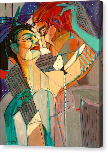 Wedding Dance Canvas Print by Jennifer Croom