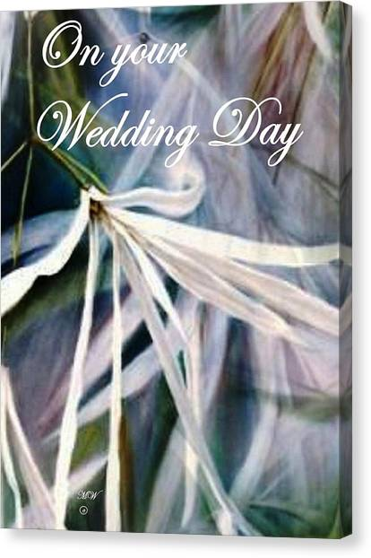 Wedding Flower Canvas Print
