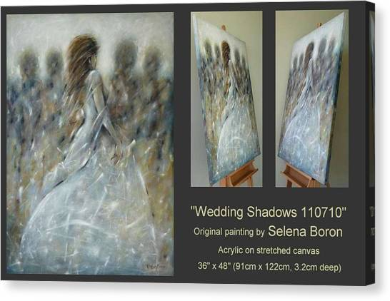 Wedding Shadows 110710 Canvas Print