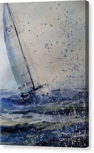 Wednesday Evening Sail Canvas Print