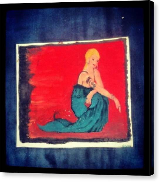 Mermaids Canvas Print - #wednesdays #photoofthedayjune #day13 by Ragenangel -s