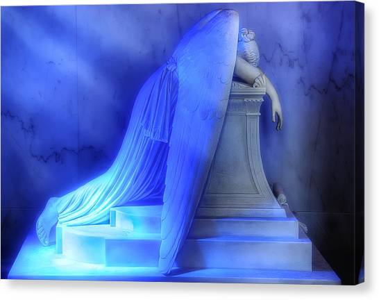 St. Louis Blues Canvas Print - Weeping Angel by Don Lovett
