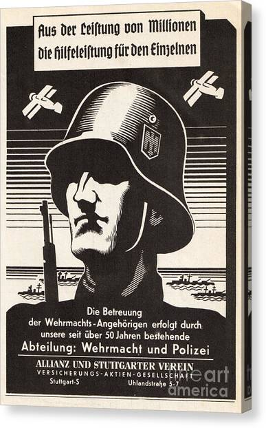 Wehrmacht Canvas Print