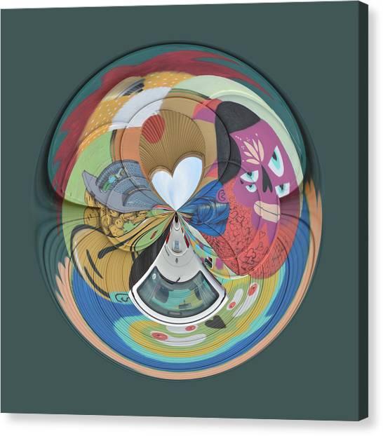 Weird Orb  Canvas Print