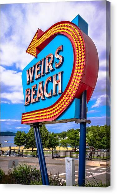 Weirs Beach Canvas Print