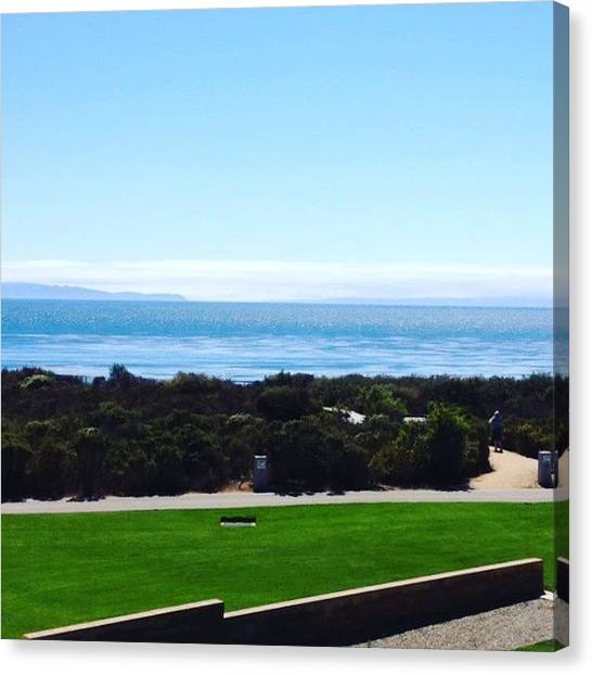 Ucsb Canvas Print - Welcome Back To Paradise by Mckenzie Kane