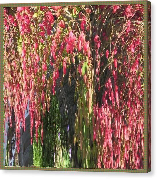 Stockart Canvas Print - Welcome Decorations Fall Season Nature Bounty Creative Artistic Transformations Using Photoshop Cc C by Navin Joshi