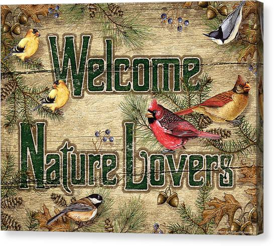 Cardinals Canvas Print - Welcome Nature Lovers by JQ Licensing