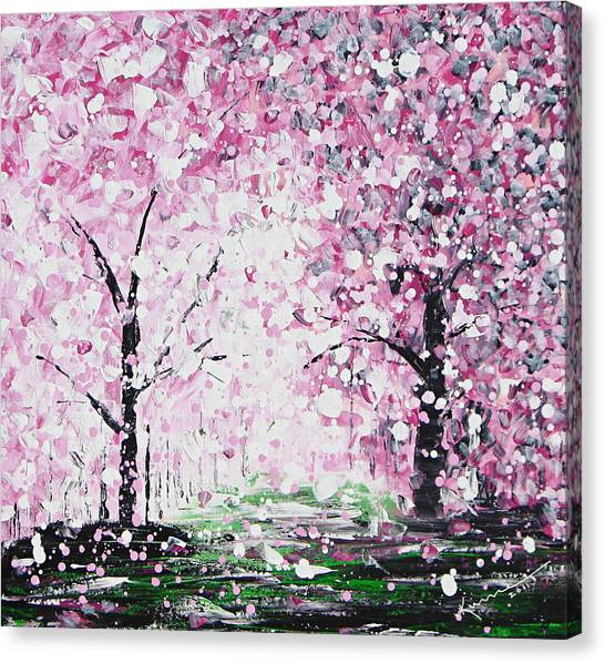 Welcome Spring Canvas Print