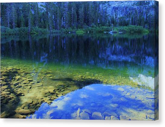 Canvas Print featuring the photograph Welcome To Eagle Lake by Sean Sarsfield
