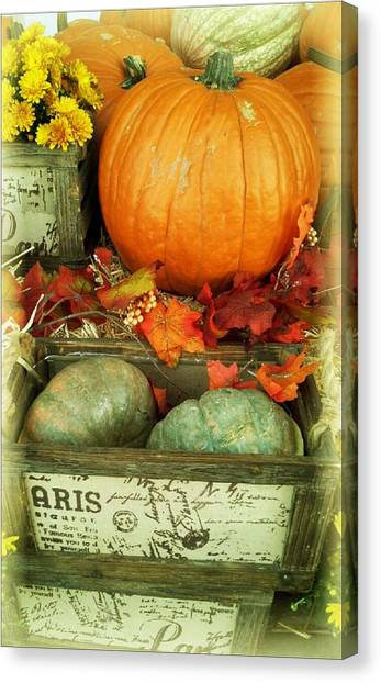 Welcome To Fall Canvas Print