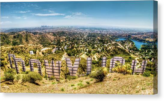 Welcome To Hollywood Canvas Print