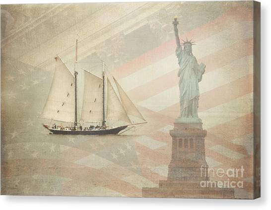 Welcome To Nyc Canvas Print