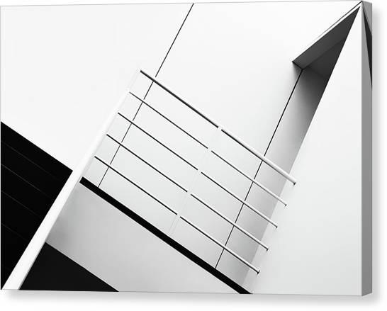 Belgium Canvas Print - Welcome To The 3rd Floor by Jeroen Van De
