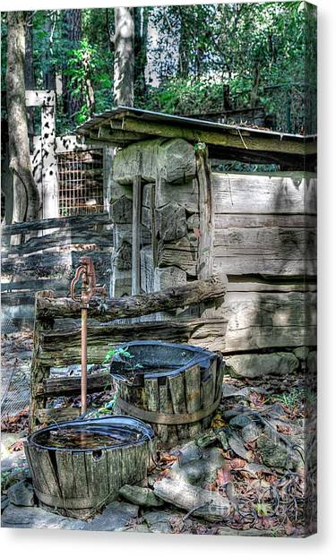 Well Water Canvas Print by Robert Pearson
