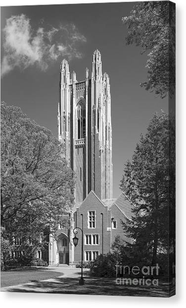 Wellesley College Green Hall Canvas Print