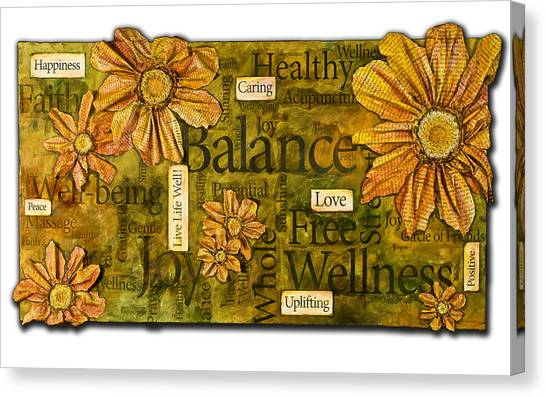 Wellness Canvas Print