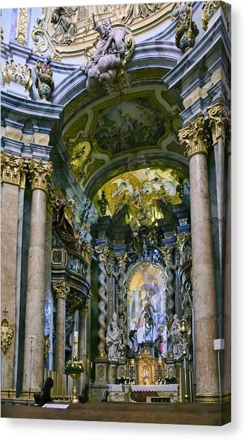 Weltenburg Abbey  II Canvas Print