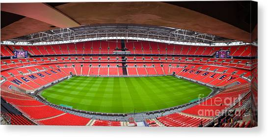 Wembely Stadium Canvas Print