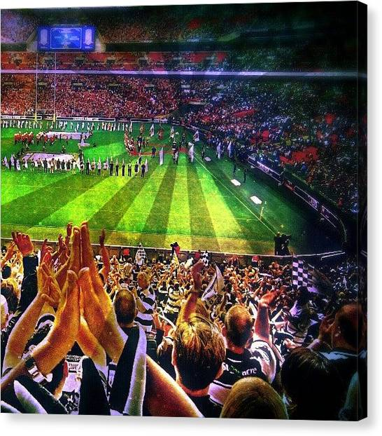 Fifa Canvas Print - Wembley by Chris Drake