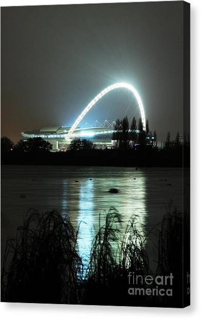 Wembley London Canvas Print