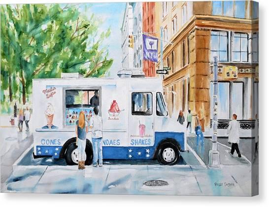 New York University Canvas Print - West 4th Street by Brian Degnon
