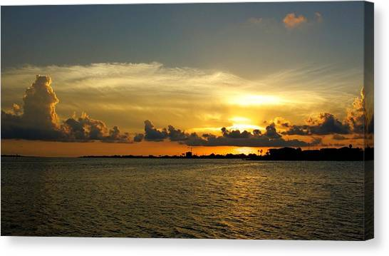 West Bay Sunset Canvas Print