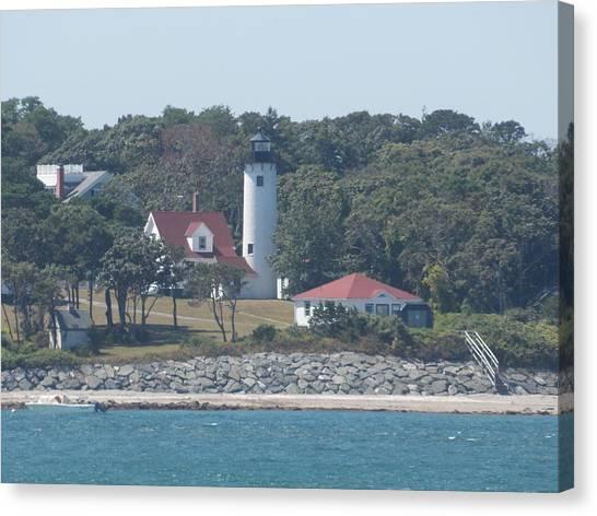 West Chop Lighthouse Canvas Print