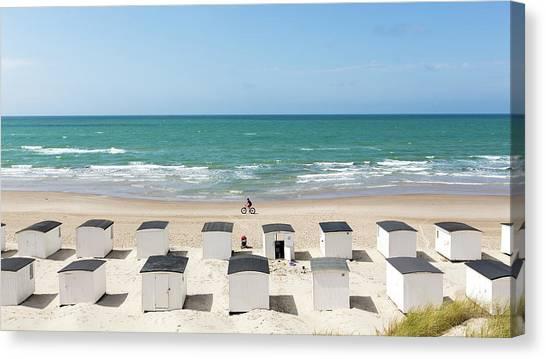 Beach Resort Canvas Print - West Coast Mood. On A Summer Day IIi by Leif L?ndal