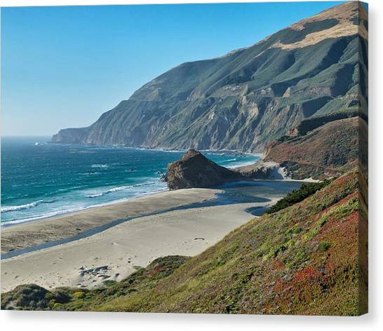 West Coast Serenity Canvas Print