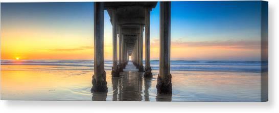 West Coast Tranquillity Canvas Print