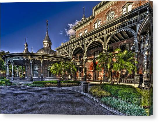 University Of Florida Canvas Print - West Entry 1 by Marvin Spates