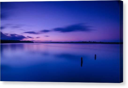 West Loch Sunrise Canvas Print