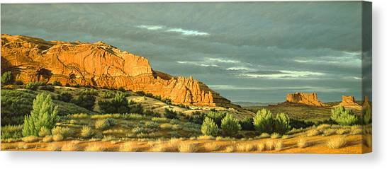 Utah Canvas Print - West Of Moab by Paul Krapf