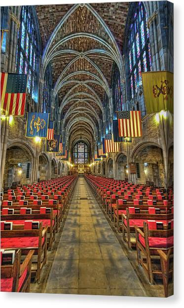 West Point Cadet Chapel Canvas Print