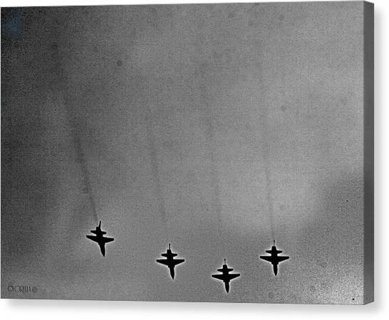 West Point Jets Canvas Print