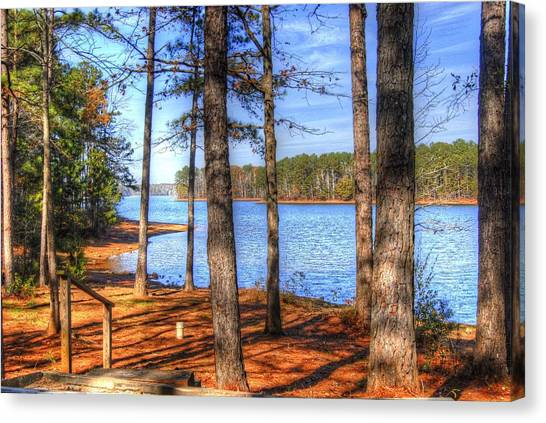 West Point Lake Canvas Print