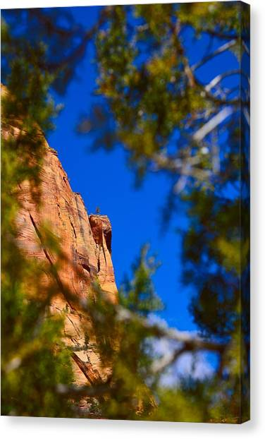 West Rim Trail Canvas Print