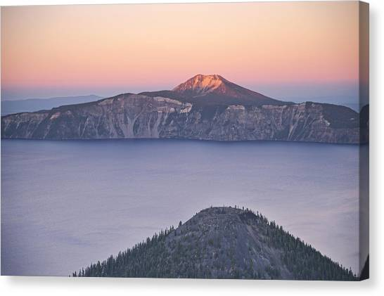 West Side Sunset Canvas Print