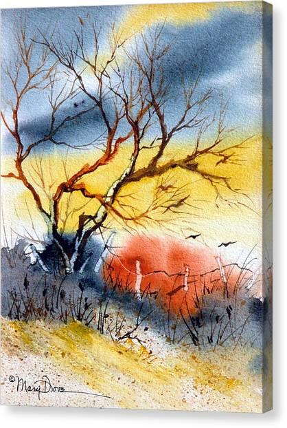 West Texas Sunrise Canvas Print