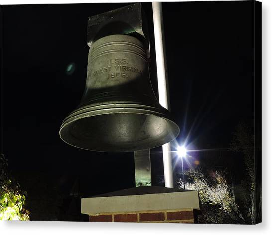 West Virginia University Wvu Canvas Print - West Virginia Bell by Cityscape Photography