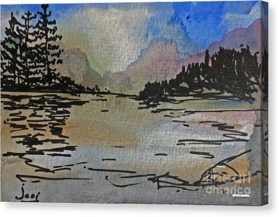 Westcoast Reflections Canvas Print