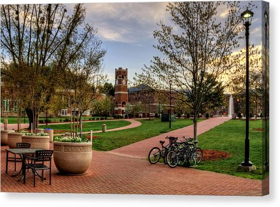 Western Carolina University Campus Canvas Print