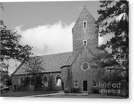 Mac Canvas Print - Western College For Women Chapel by University Icons