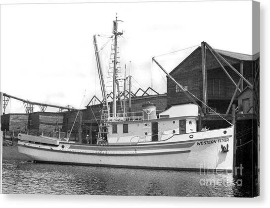 Western Flyer Purse Seiner Tacoma Washington State March 1937 Canvas Print