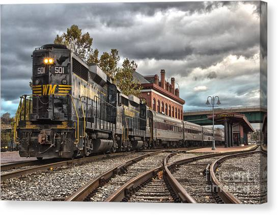 Western Maryland Scenic Railroad Canvas Print
