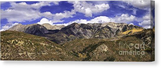 Western Sky Panorama Canvas Print