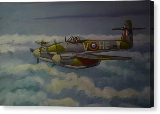 Westland Whirlwind Canvas Print