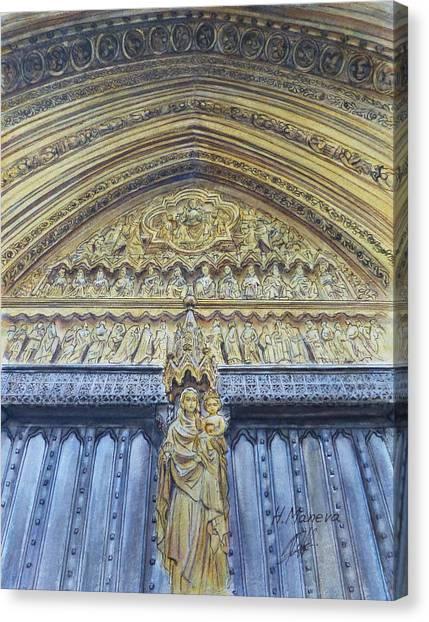 Westminster Abbey Canvas Print - Westminster Abbey Iv by Henrieta Maneva